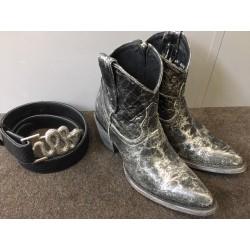 Boots Black Pastosi Mexicana
