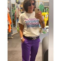 Pantalon violet Hod