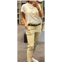 Pantalon green Stripe Hod...