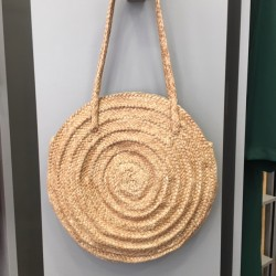 Sac rond naturel Dragon...