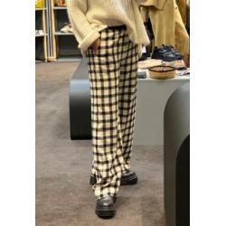 Pantalon Diega noir et blanc