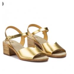 Sandales dorées Beatriz Furest